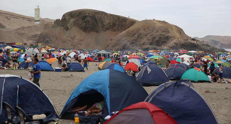 Año Nuevo: En estas playas está PROHIBIDO acampar por riesgo de multa