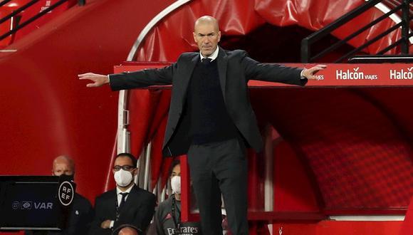 Zinedine Zidane dio pistas sobre su futuro con Real Madrid. (Foto: EFE)