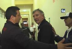 Universitario: Asistente de Ángel Comizzo intentó golpear a camarógrafo de Fútbol en América   VIDEO