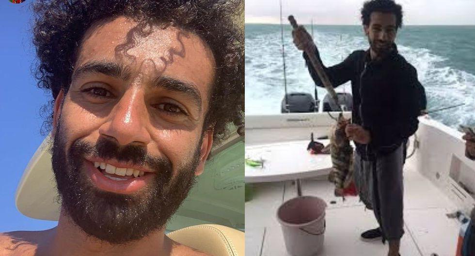 Mohamed Salah pasa sus vacaciones en el Mar Rojo
