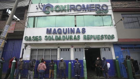 Mario Romero Pérez se mantiene en UCI del hospital Hospital Guillermo Kaelin de la Fuente. (Foto: Britanie Arroyo/GEC)
