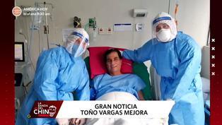 Narrador deportivo Toño Vargas se recupera de la COVID-19