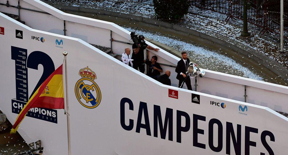 Real Madrid celebró su duodécima Champions League con sus hinchas en España