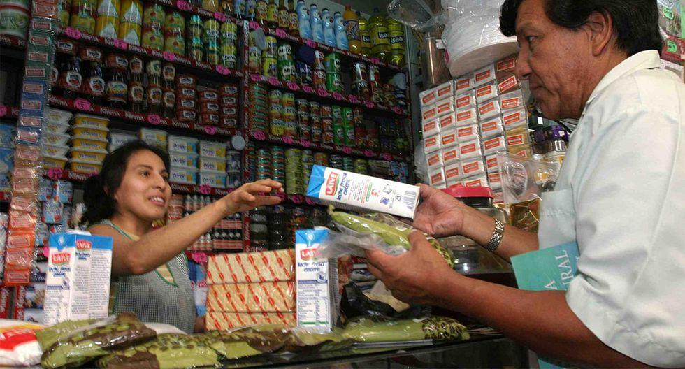 Así podrás conocer cuántas bodegas cuentan con productos de primera necesidad con esta aplicación. (Foto: Andina)