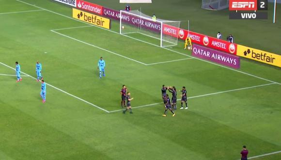 Gol de Matías Zunino en Binacional vs LDU de Quito por Copa Libertadores