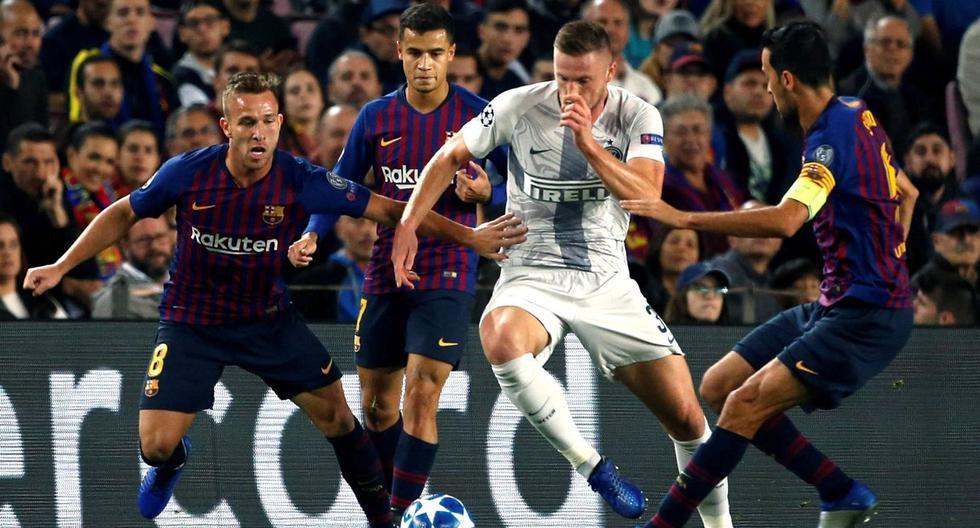 Deportes: Barcelona vs Inter de Milan 1-1 Resumen, mejores ...