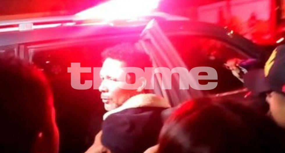 Kike Suero fue golpeado por interno en cárcel de Ica. (Fotos: Trome)