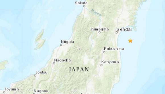 El terremoto alcanzó el nivel 4 en la escala sísmica japonesa, compuesta de 7 niveles y centrada en medir la agitación en la superficie y las zonas afectadas. (Foto: USGS)