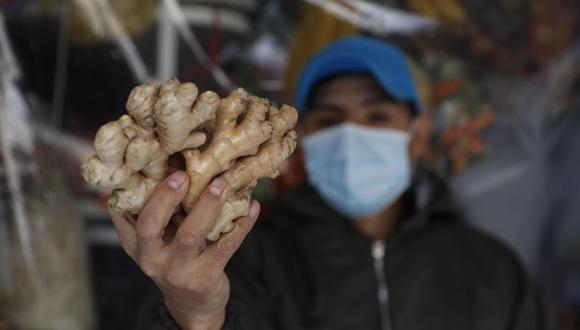El jengibre tiene múltiples beneficios para nuestra salud. Foto: EFE/Paolo Aguilar