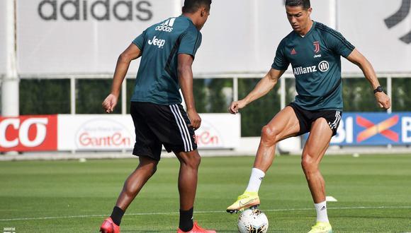 Cristiano Ronaldo, delantero de Juventus de Italia