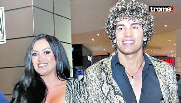 Michelle Soifer y el 'Principito' Giuseppe.