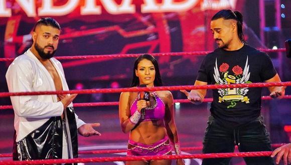 Andrade, Zelina Vega y Ángel Garza irán por el oro de WWE en Clash of Champions. (WWE)