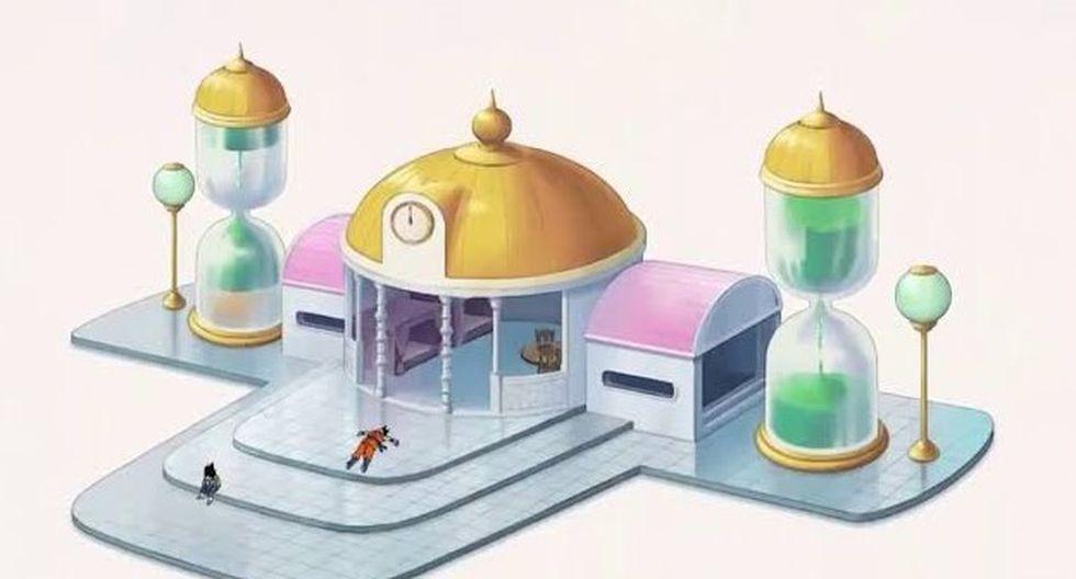 La habitación del tiempo fue utilizada por distinto personajes a lo largo de la saga. (Imagen: Captura de pantalla)