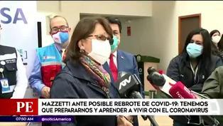 """Pilar Mazzetti sobre un posible rebrote de coronavirus: """"Debemos prepararnos para ello"""""""