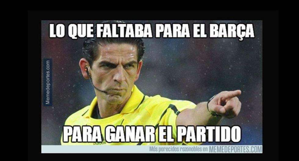 os memes de la derrota del Barcelona