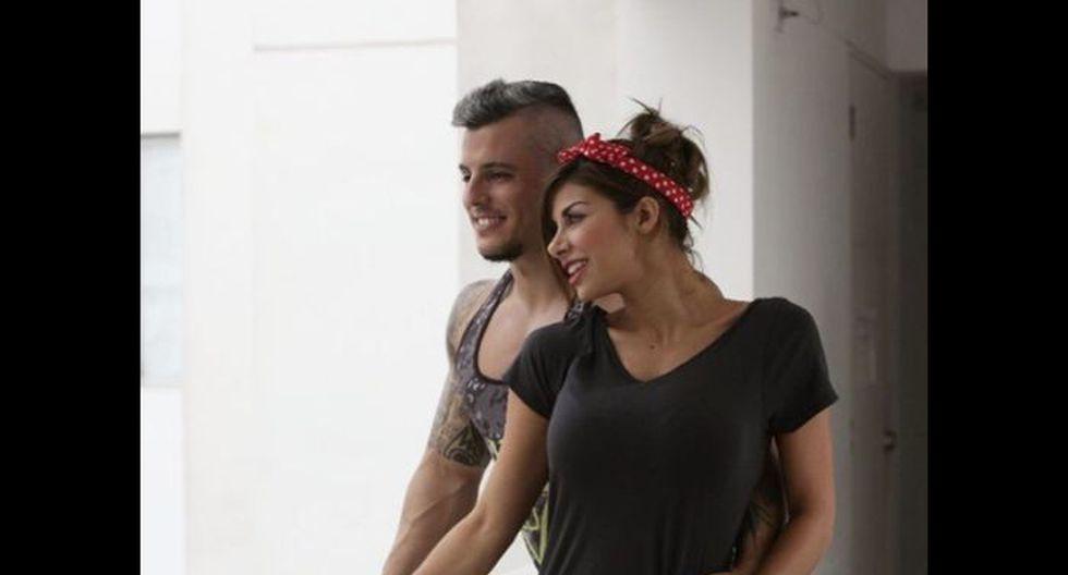 Xoana González y Rodrigo Valle