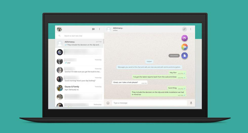WhatsApp también ha asegurado que en el futuro se ampliará esta función para incluir las llamadas de voz y video en grupo. (Foto: WhatsApp)
