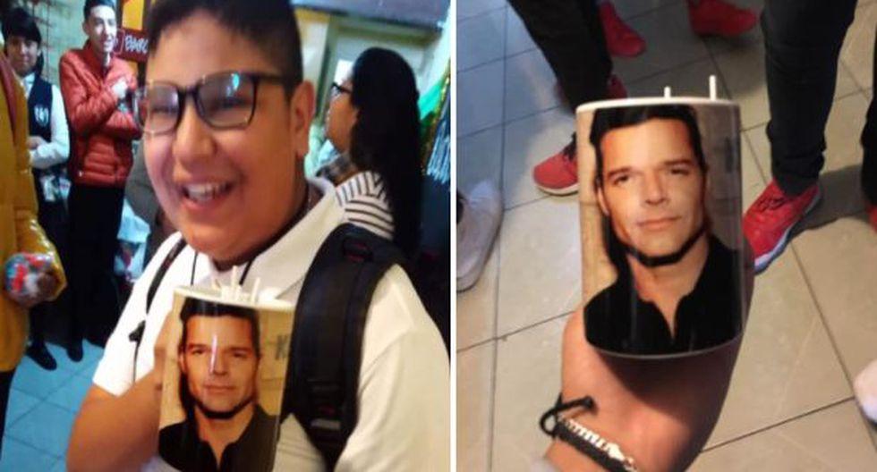 Alumno pidió una taza de 'Rick y Morty' y le dieron una de Ricky Martin. (Facebook)