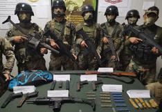 Vraem: militares y policías se enfrentan a presuntos terroristas e incautan armas de guerra