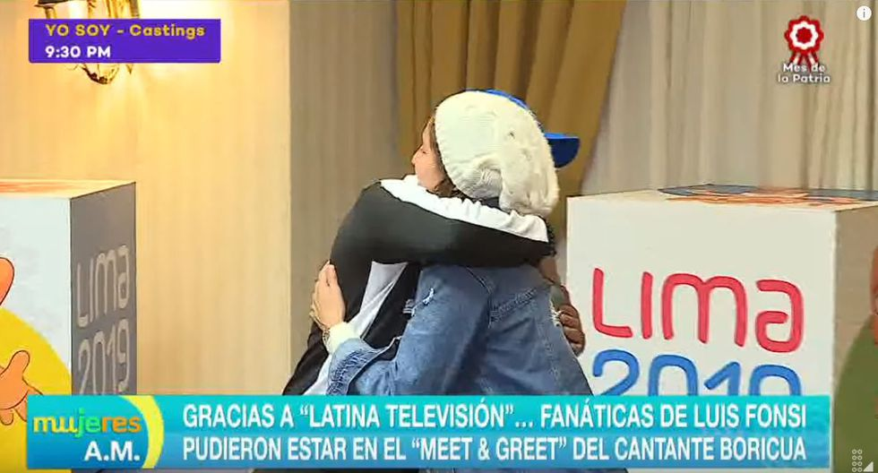 Alexandra Grande y Luis Fonsi