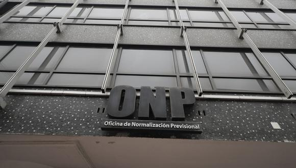 Trámite de hace ante la ONP. (Foto: Cesar Campos / GEC)