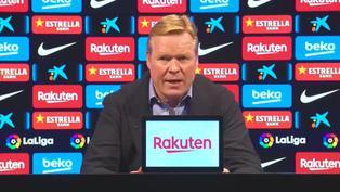 Ronald Koeman se pronunció tras derrota del Barcelona
