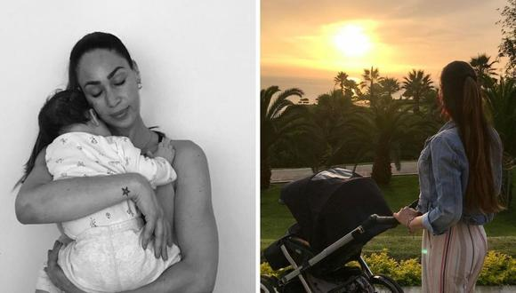 Melissa Loza pasó fiestas al lado de su familia y publicó dos hermosas fotografías del cielo limeño. (Foto: Instagram / @mlozaperu).