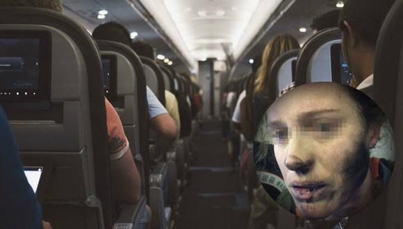 Esta mujer nunca esperó que sus auriculares le fueran a explorar en la cara.