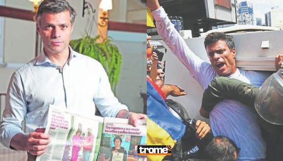 Leopoldo López se pronuncia por las elecciones 2021 del Perú. Foto: César Campos