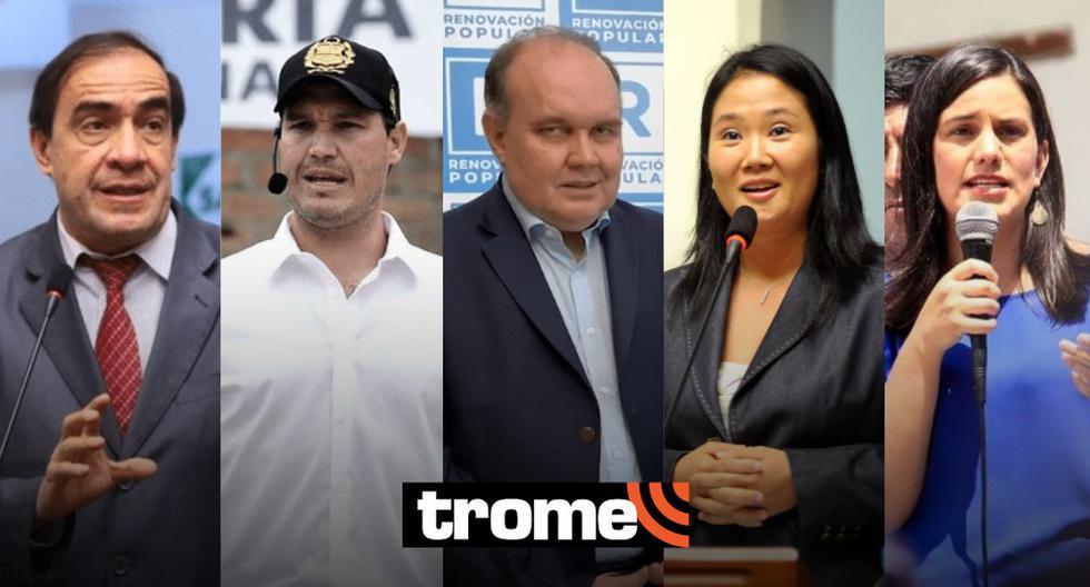 Yhonny Lescano, George Forsyth y Rafael López Aliaga lideran simulacro de votación de Ipsos