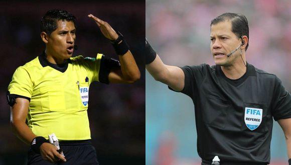 Michael Espinoza y Víctor Hugo Carrillo serán los árbitros para los duelos entre Alianza Lima y Binacional. (Foto: GEC)