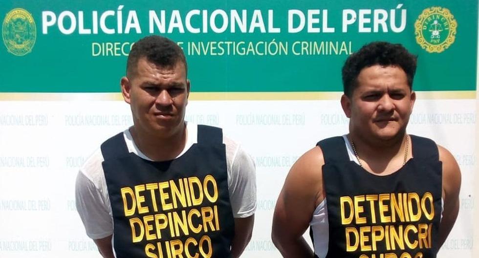 Los venezolanos fueron identificados gracias a las cámaras de seguridad de Surco. (Difusión)