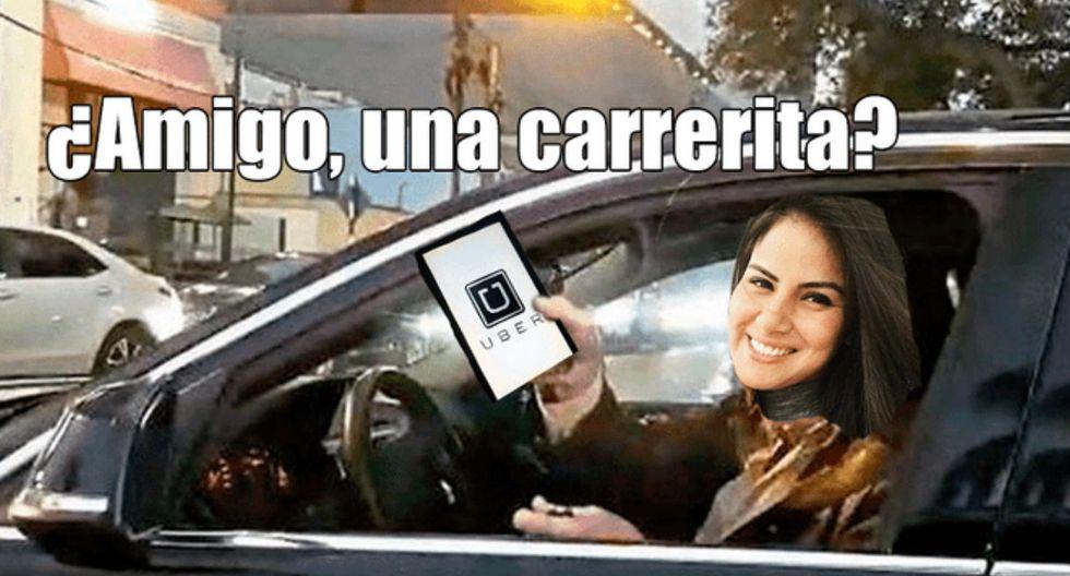 Cibernautas no perdieron el tiempo y le dedicaron divertidos memes a la 'Chica Uber'.