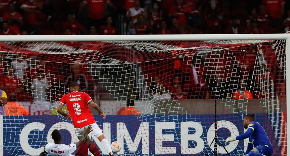 Paolo Guerrero: Internacional Tolima: Goles, resumen y resultado del partido por Copa Libertadores en vivo