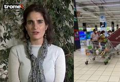 """Ministra de Chile sobre retiro de AFP: """"Ojalá no veamos a gente saliendo con TVs plasmas de tiendas como en Perú"""""""