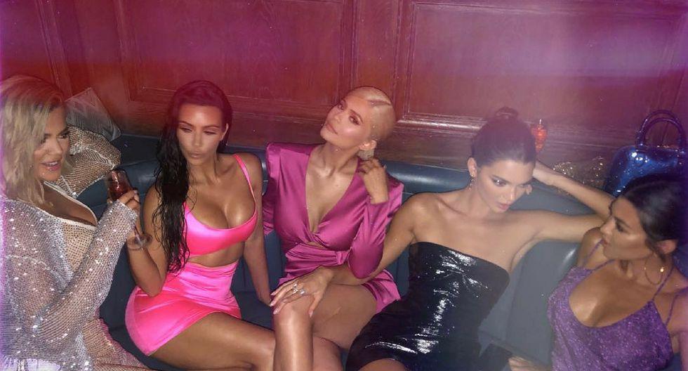 La policía terminó la fiesta de Kylie Jenner por sus 21 años | Foto: Instagram