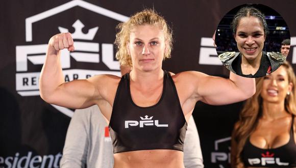 Existe interés en el UFC por enfrentar a Amanda Nunes con la norteamericana Kayla Harrison.