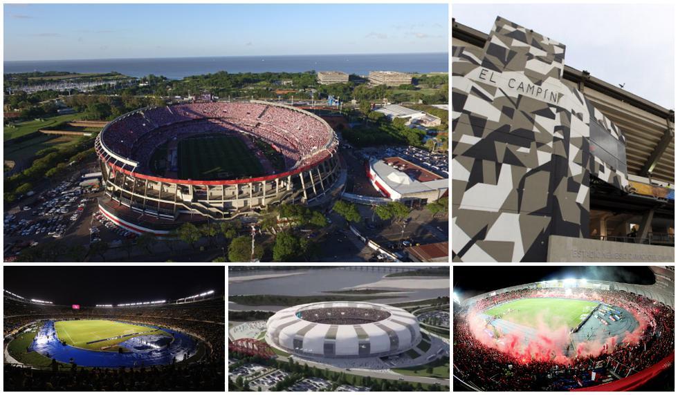 Las nueve sedes de la Copa América 2020. (FOTO: Agencias)