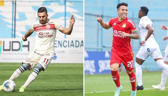 Universitario vs. Sport Huancayo por la Liga 1. (Foto: Composición/Liga 1)