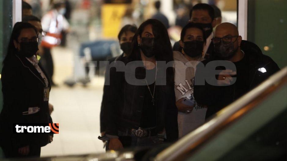 Kate Del Castillo llegó al Perú para unirse a grabaciones de 'La reina del sur 3′ en Cusco (FOTO: CÉSAR CAMPOS)