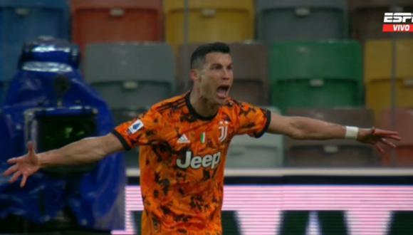 Cristiano Ronaldo se lució con doblete en la Serie A.