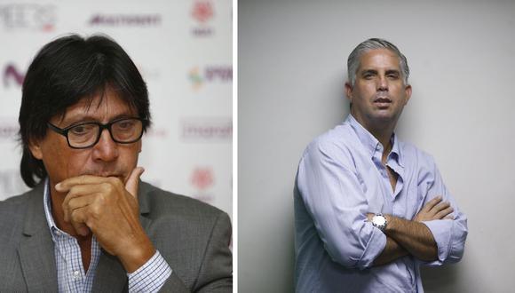 Ángel Comizzo y Diego Rebagliati