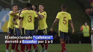 Copa América: Colombia prolonga malos resultados de Ecuador con victoria 1-0