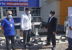 Ayacucho: 9 ventiladores mecánicos y 3,000 dosis de ivermectina llegan a la región