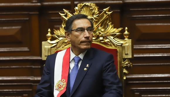 Martín Vizcarra se pronunció luego de que El Comercio revelara el testimonio de tres aspirantes a colaboración eficaz sobre un supuesto pago de S/ 1.3 millones. (Foto: GEC)