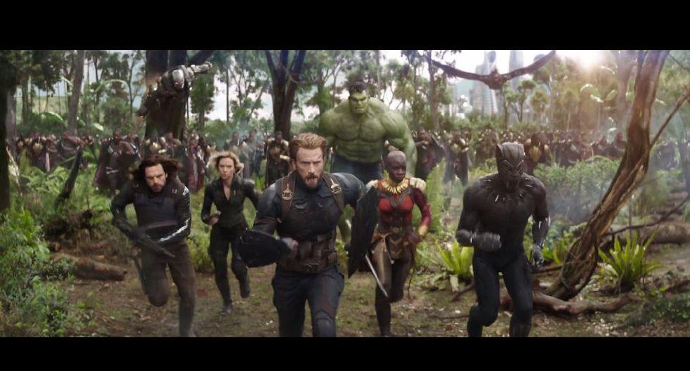 Avengers: Infinity War llegará a los cines de Estados Unidos en mayo. (Captura)
