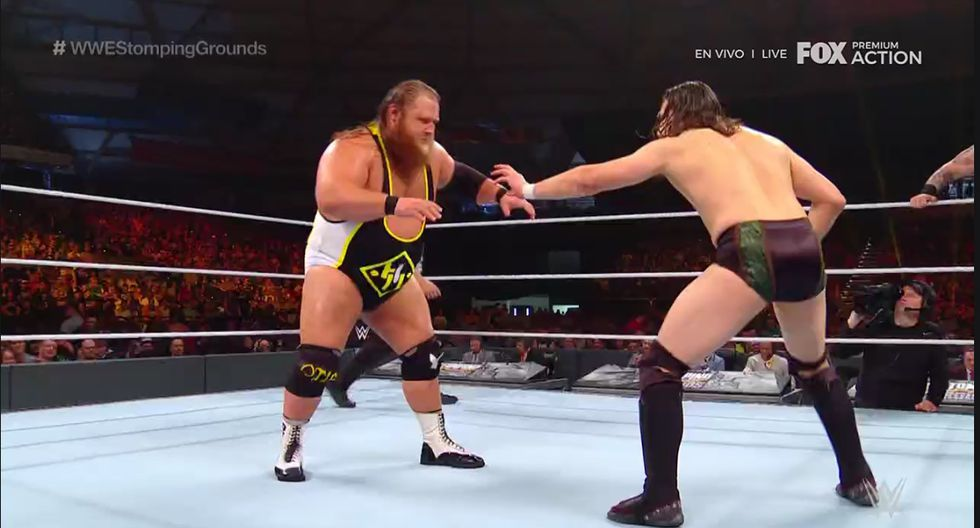 Bryan y Rowan continúan reinando en WWE SmackDown Live. (Captura Fox Action)