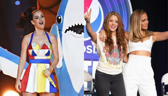 Katy Perry expresa su entusiasmo por el show de Jennifer Lopez y Shakira en el Super Bowl 2020. (Foto: AFP / @shakira)