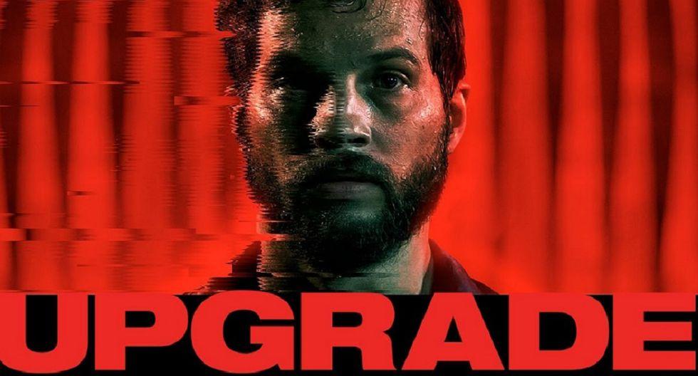 3. UPGRADE es protagonizada por Logan Marshall-Green, Betty Gabriel, Harrison Gilbertson y Benedict Hardie (Foto: OTL Releasing)