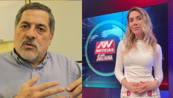 Juliana Oxenfor opinó sobre declaraciones de Ernesto Bustamante. (GEC/ Instagram)